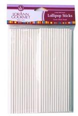 Lorann Lorann - Lollipop sticks - 6'' (100ct), 5721-0000