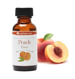 Lorann Lorann - Peach Super Strength Flavor - 1oz, 0450-0500