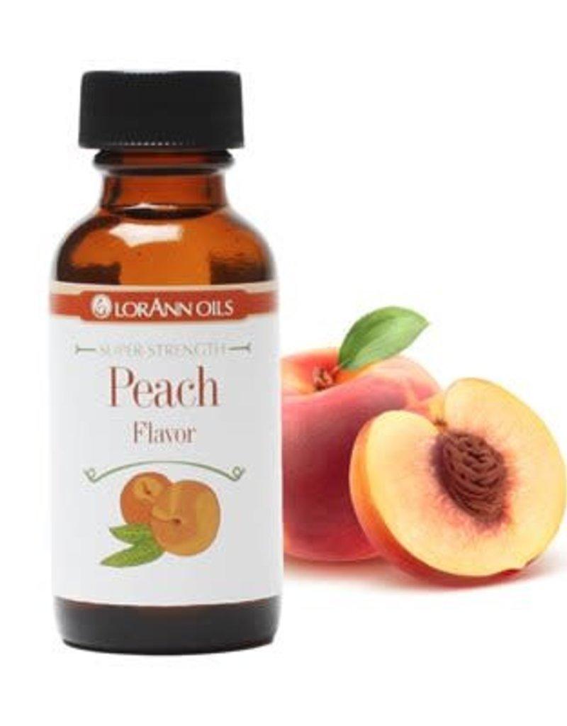 Lorann Lorann - Peach Super Strength Flavor - 1oz, 0450-0500