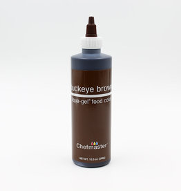 Chefmaster Chefmaster - Buckeye Brown Gel food color - 10.5oz