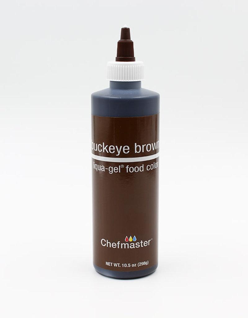 Chefmaster Chefmaster - Buckeye Brown Gel food color - 10.5oz