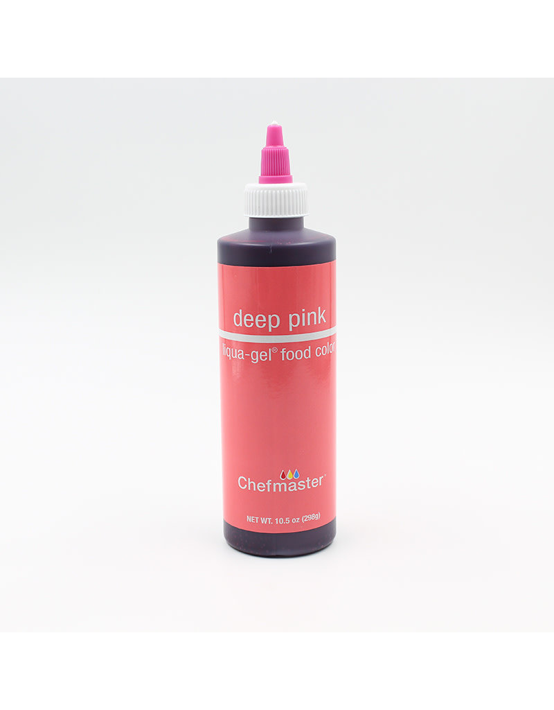 Chefmaster Chefmaster - Deep Pink Gel food color - 10.5oz