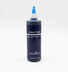 Chefmaster Chefmaster - Navy Blue Gel food color - 10.5oz