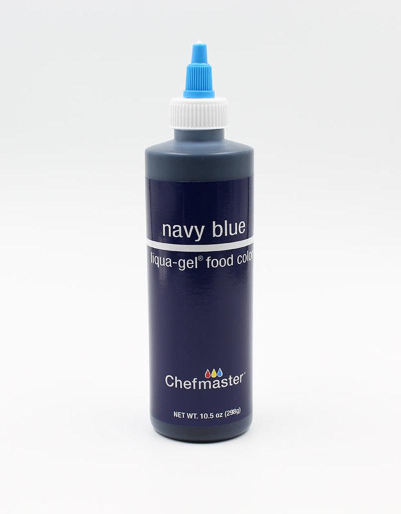 Chefmaster Chefmaster - Navy Blue Gel food color - 10.5oz