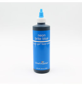 Chefmaster Chefmaster - Neon Blue Gel food color - 10.5oz