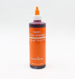 Chefmaster Chefmaster - Neon Orange Gel food color - 10.5oz