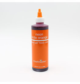 Chefmaster Chefmaster - Neon Orange Gel food color - 10.5oz