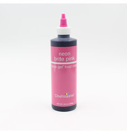 Chefmaster Chefmaster - Neon Pink Gel food color - 10.5oz