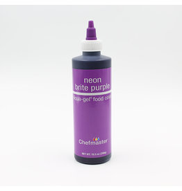 Chefmaster Chefmaster - Neon Purple Gel food color - 10.5oz
