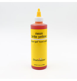 Chefmaster Chefmaster - Neon Yellow Gel food color - 10.5oz
