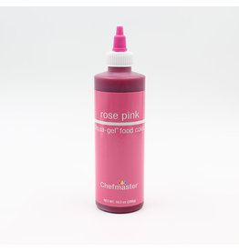 Chefmaster Chefmaster - Rose Pink Gel food color - 10.5oz