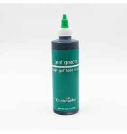 Chefmaster Chefmaster - Teal Green Gel food color - 10.5oz