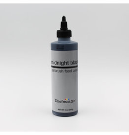 Chefmaster Chefmaster - Black Airbrush food color - 9oz