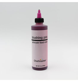 Chefmaster Chefmaster - Blushing Pink Airbrush food color - 9oz
