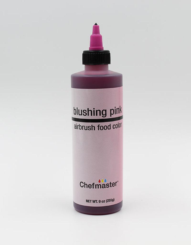 Chefmaster Chefmaster - Blushing Pink Airbrush food color - 9oz
