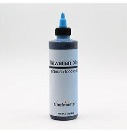 Chefmaster Chefmaster - Hawaiian Blue Airbrush food color - 9oz
