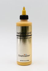 Chefmaster Chefmaster - Metallic Gold Airbrush food color - 9oz