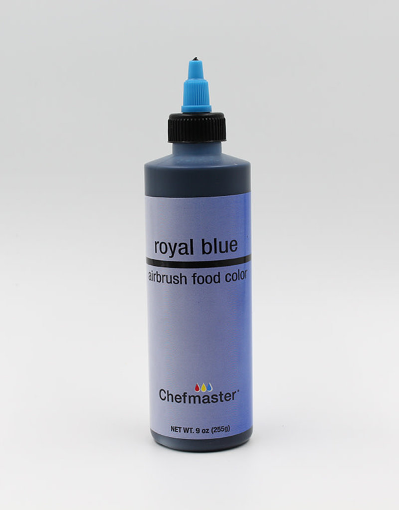 Chefmaster Chefmaster - Royal Blue Airbrush food color - 9oz