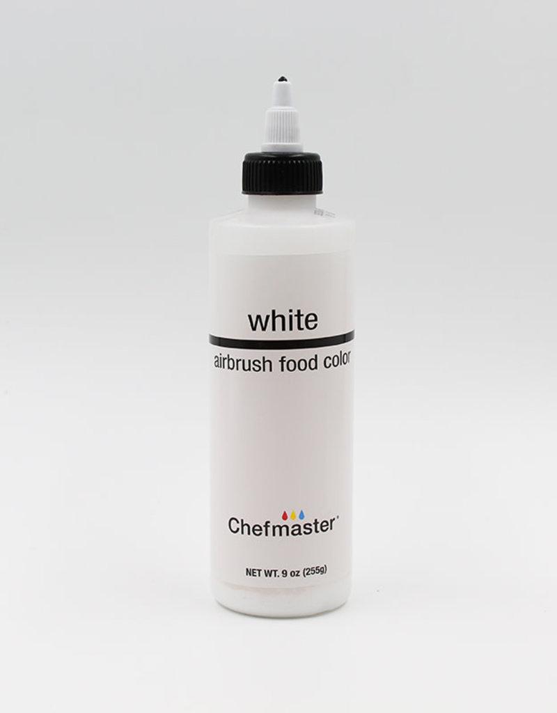 Chefmaster Chefmaster - White Airbrush food color - 9oz