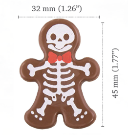 Dobla Dobla - Chocolate Ginger Bones (126ct), 22004