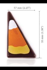 Dobla Dobla - Dark Chocolate Triangle Candy Corn (168ct), 21432