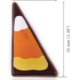 Dobla Dobla - Dark Chocolate Triangle Candy Corn (168ct), 21432