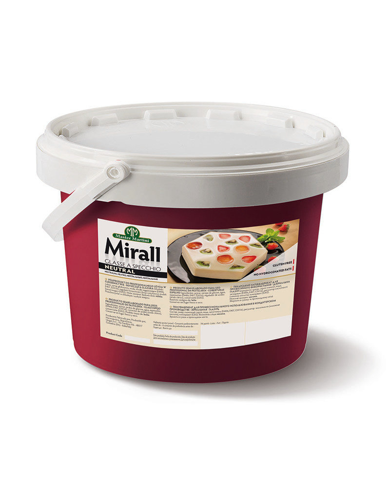 Master Martini Master Martini - Mirall Neutral Mirror Glaze - 6.6 lb, AF20EA
