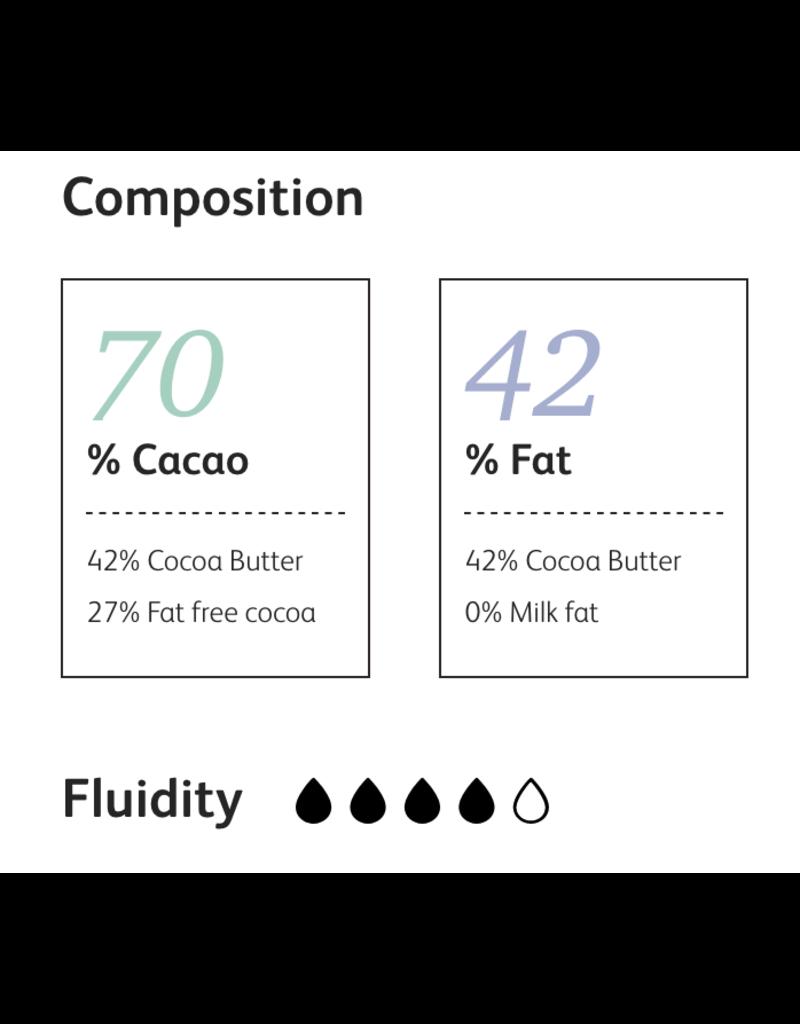 Cacao Barry Cacao Barry - Fleur de Cao Origin Dark Chocolate 70% - 1 lb CHD-O70FLEU-US-U77-R
