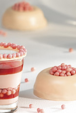 Barry Callebaut Barry Callebaut - Strawberry Chocolate Crispearls - 800g, CEF-CC-STRA-E0-W97