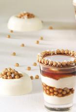 Mona Lisa Mona Lisa - Salted Caramel Chocolate Crispearls - 800g, CHF-CC-CCRISE0-02B