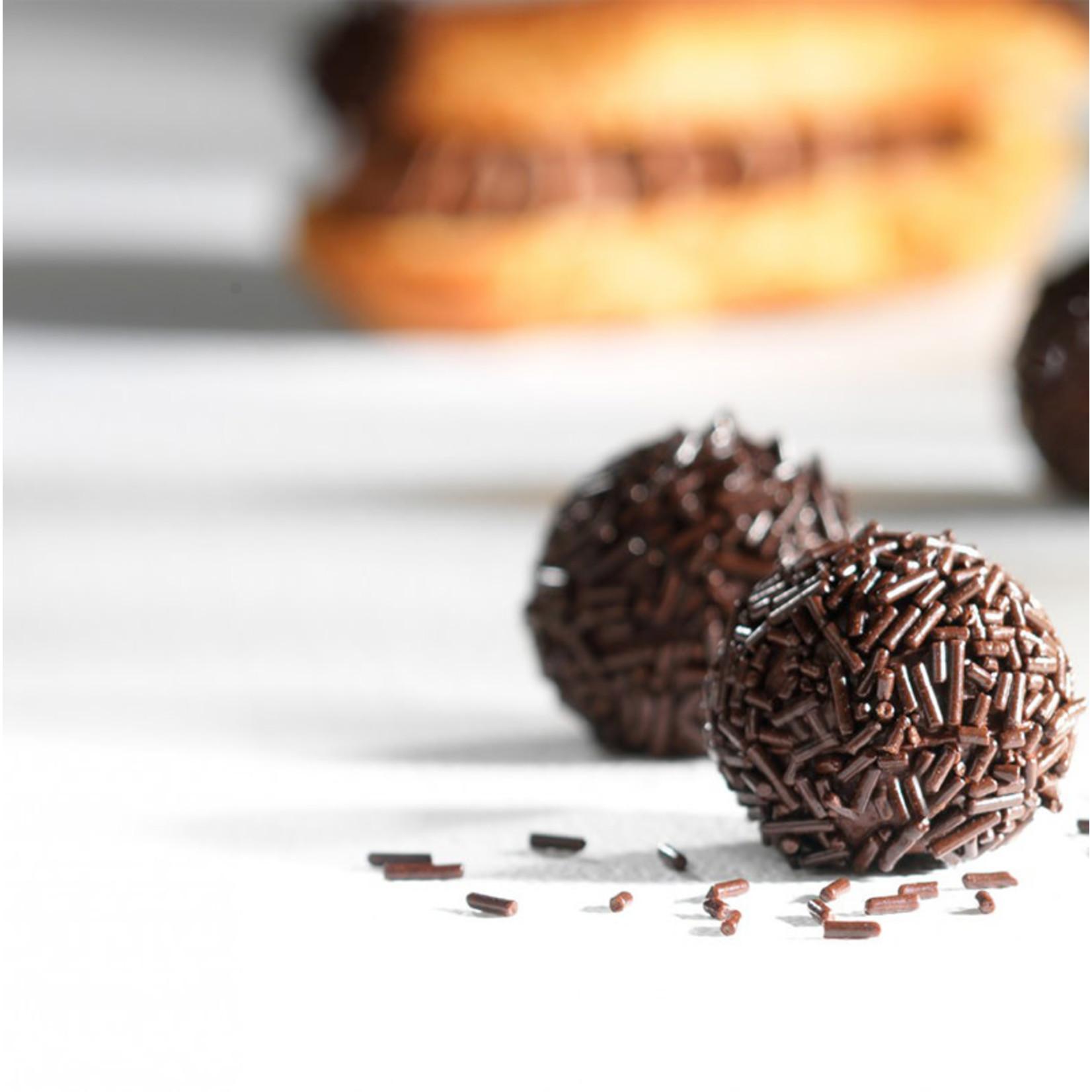 Cacao Barry Cacao Barry - Dark Chocolate Vermicelli - 1 kg/2.2 lb, M-7VCH-US-U73