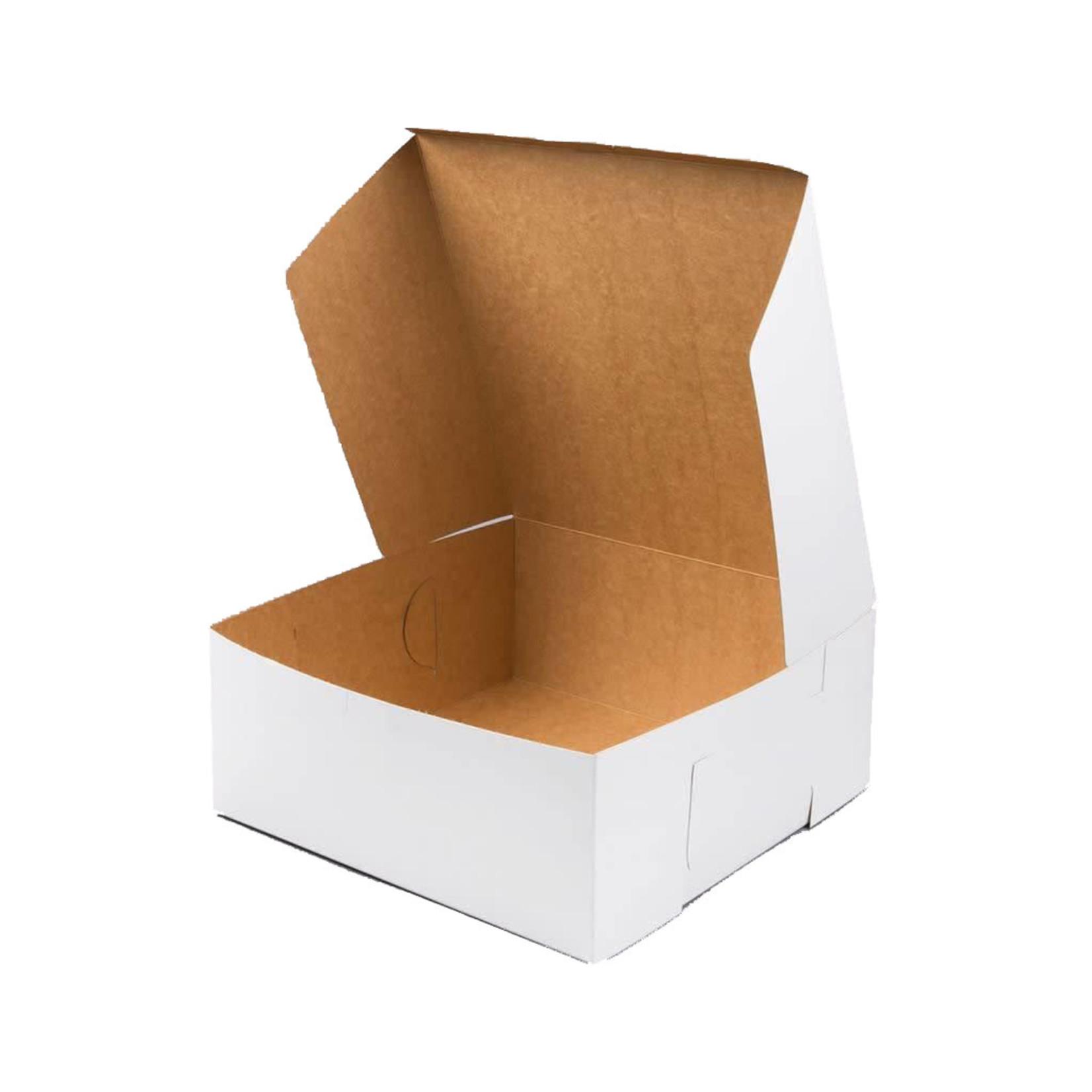 Southern Champion Tray Cake box - white -