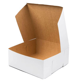 Pastry Depot Cake box - white -