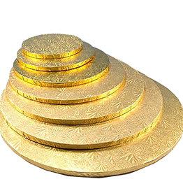 """Enjay Enjay - Cake drum - 1/2"""" round, Gold -"""