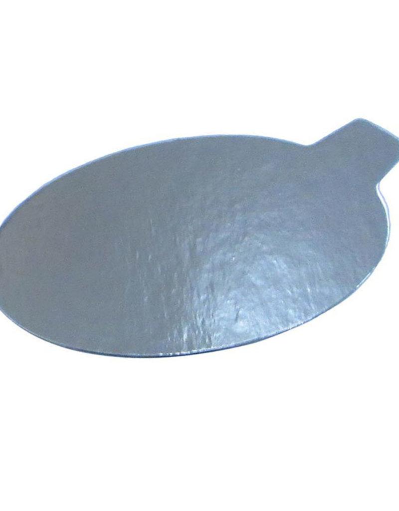 Enjay Enjay - Mono board - oval, Silver - 3.9x2.5'' (500ct)