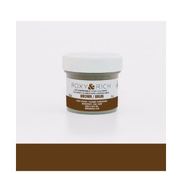 Roxy & Rich Roxy & Rich - Fat Soluble Powdered Color, Brown - 5g