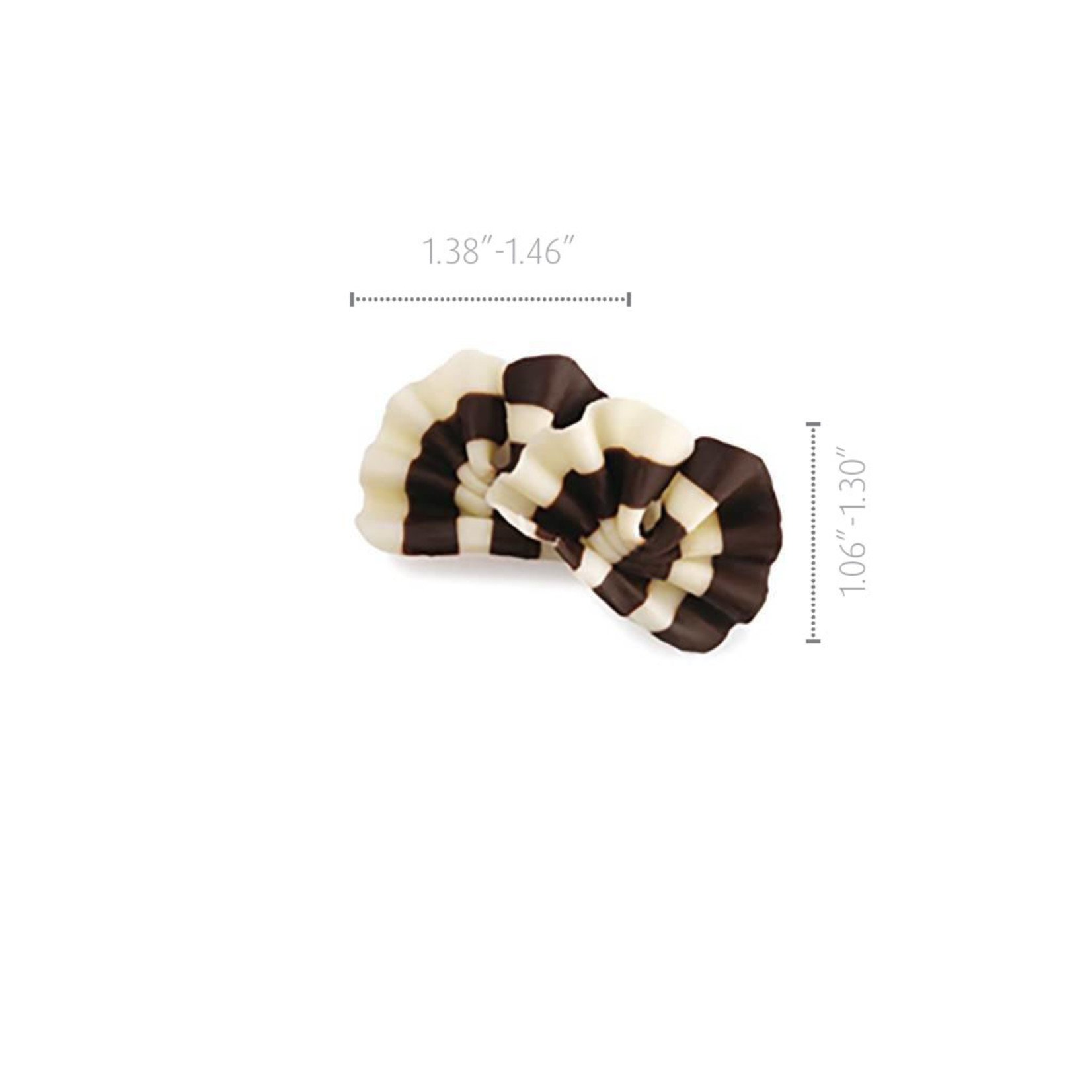 Dobla Dobla - Dark/White Chocolate Forest Shavings - 1.3'' (11.9oz), 73191-R