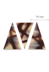 Dobla Dobla - Chocolate Diablo Triangle Dark/White (290ct), 93227   73227
