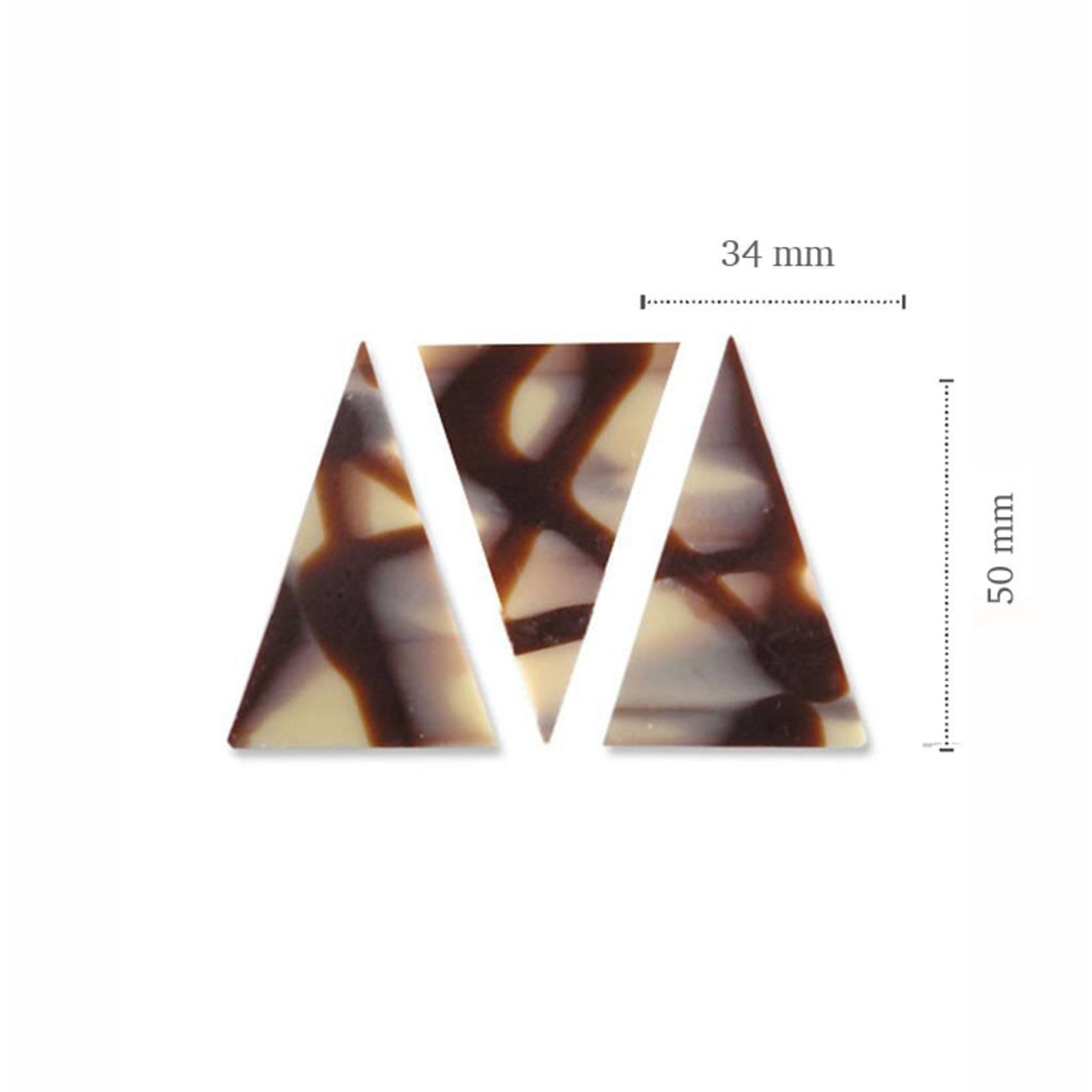 Dobla Dobla - Chocolate Diablo Triangle Dark/White (290ct), 93227 | 73227