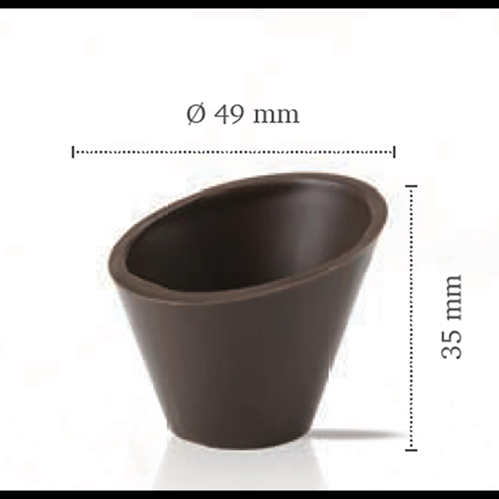 Dobla Dobla - Dark Chocolate Dessert cup, Pisa (168ct), 11210