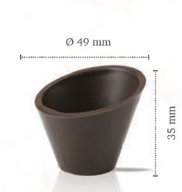 Dobla Dobla - Dark Chocolate Dessert cup, Pisa (168ct), 11210
