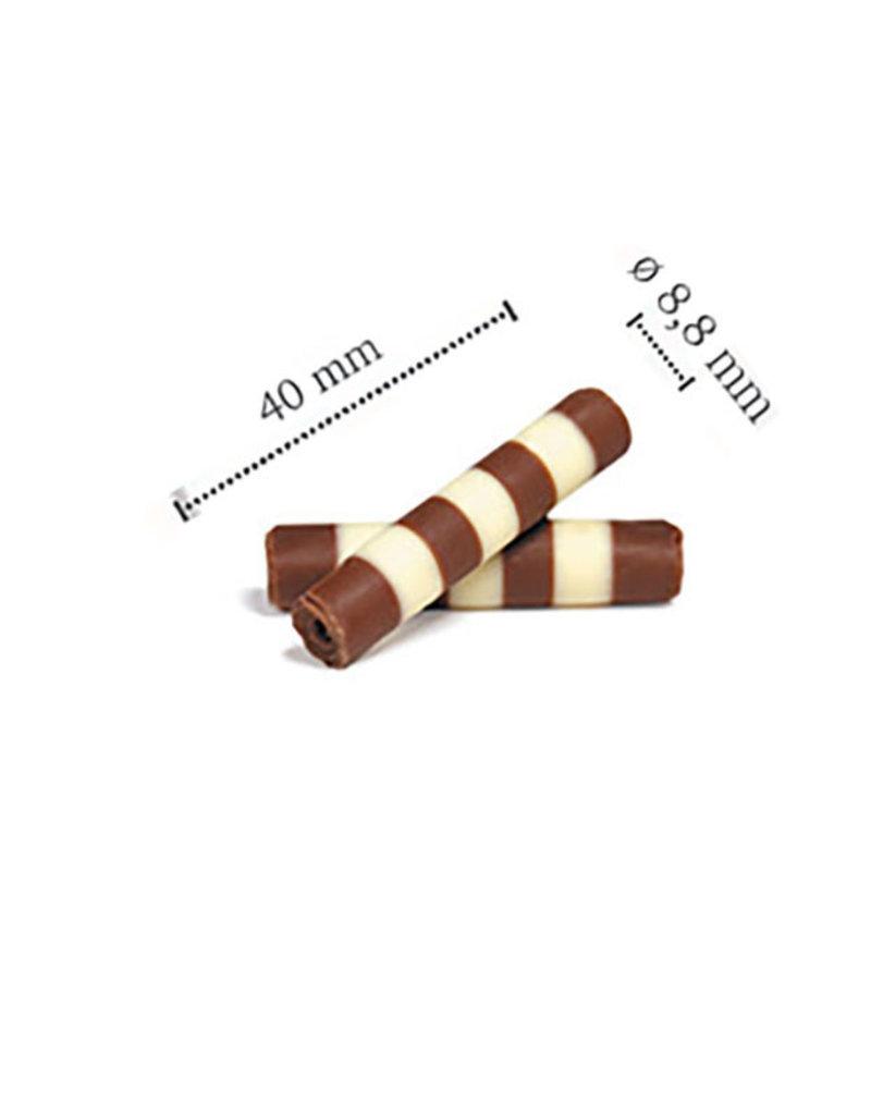 Dobla Dobla - Chocolate Mistral, Duo, Milk/White - 1.5x0.4'' (5.5lb), 96319 | 42167