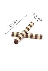 Dobla Dobla - Dark/White Chocolate Twister - 1.5x0.25'' (1 lb), 41159-R