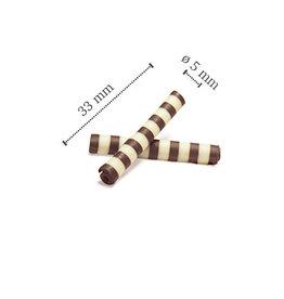Dobla Dobla - Dark/White Chocolate Twister - 1.5x0.25'' (1000ct), 41159-R