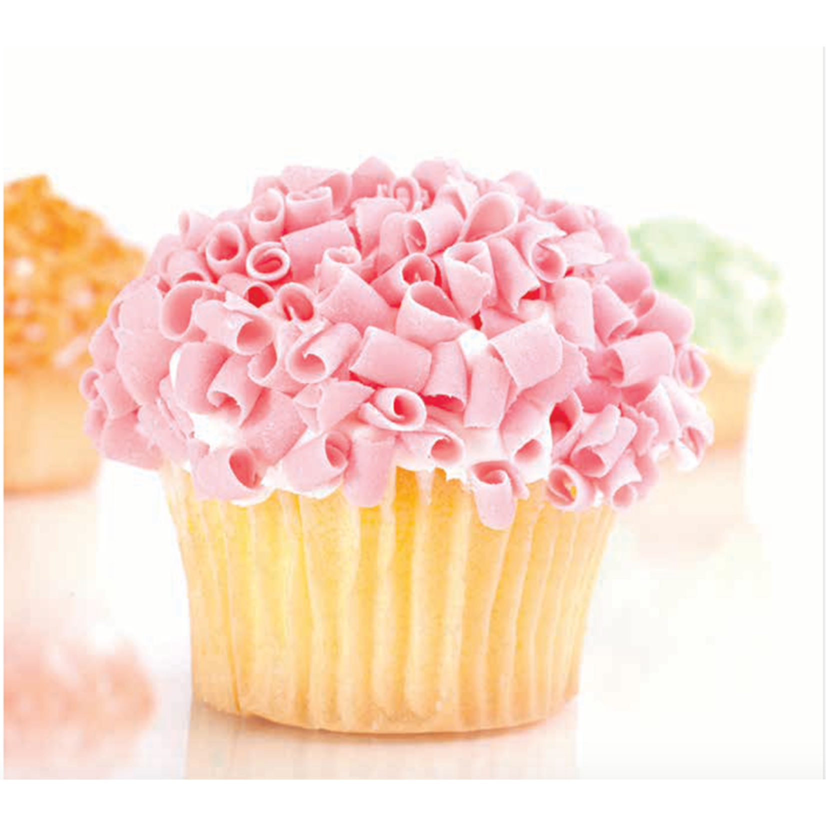 Dobla Dobla - Pink Chocolate Curls - 5lb, 96426