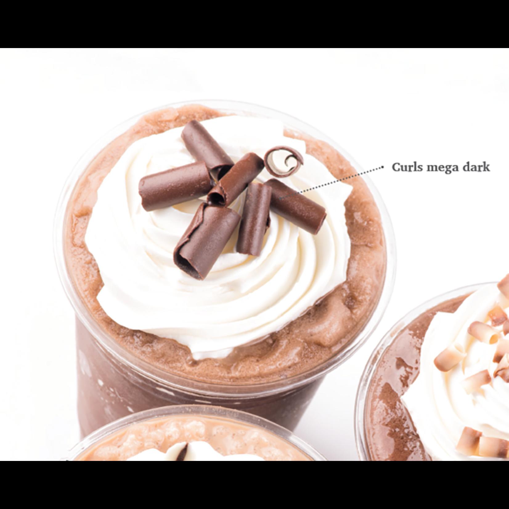 Dobla Dobla - Dark Chocolate Mega Curls - 1 lb, 41136-R