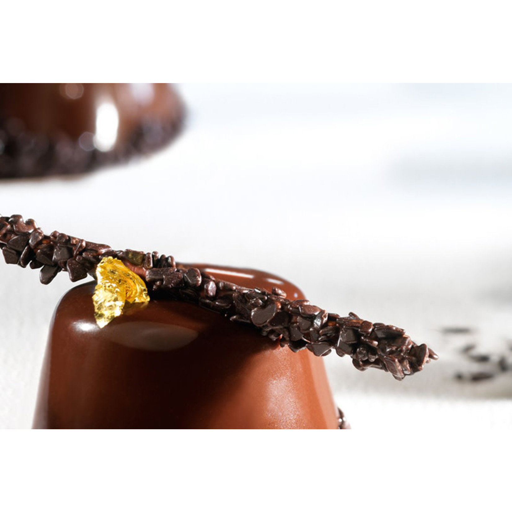 Barry Callebaut Barry Callebaut - Dark Chocolate Flakes, Small - 1 kg/2.2lb, SPLIT-4-D-E2-U68