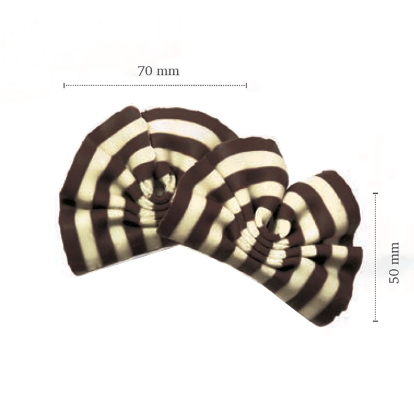 Dobla Dobla - Dark/White Chocolate Forest Shavings - 2.75'' (5.5lb), 42151