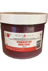 Roxy & Rich Roxy & Rich - Water Soluble Powdered Color, Red - 250g, H250-003