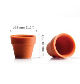 Dobla Dobla - Chocolate Flower Pot Mini (24ct), 18139